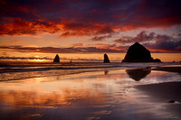 Cannon Beach Footsteps