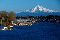 Columbia River Boat Houses