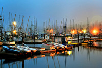 Yaquina Bay Fishing Boats